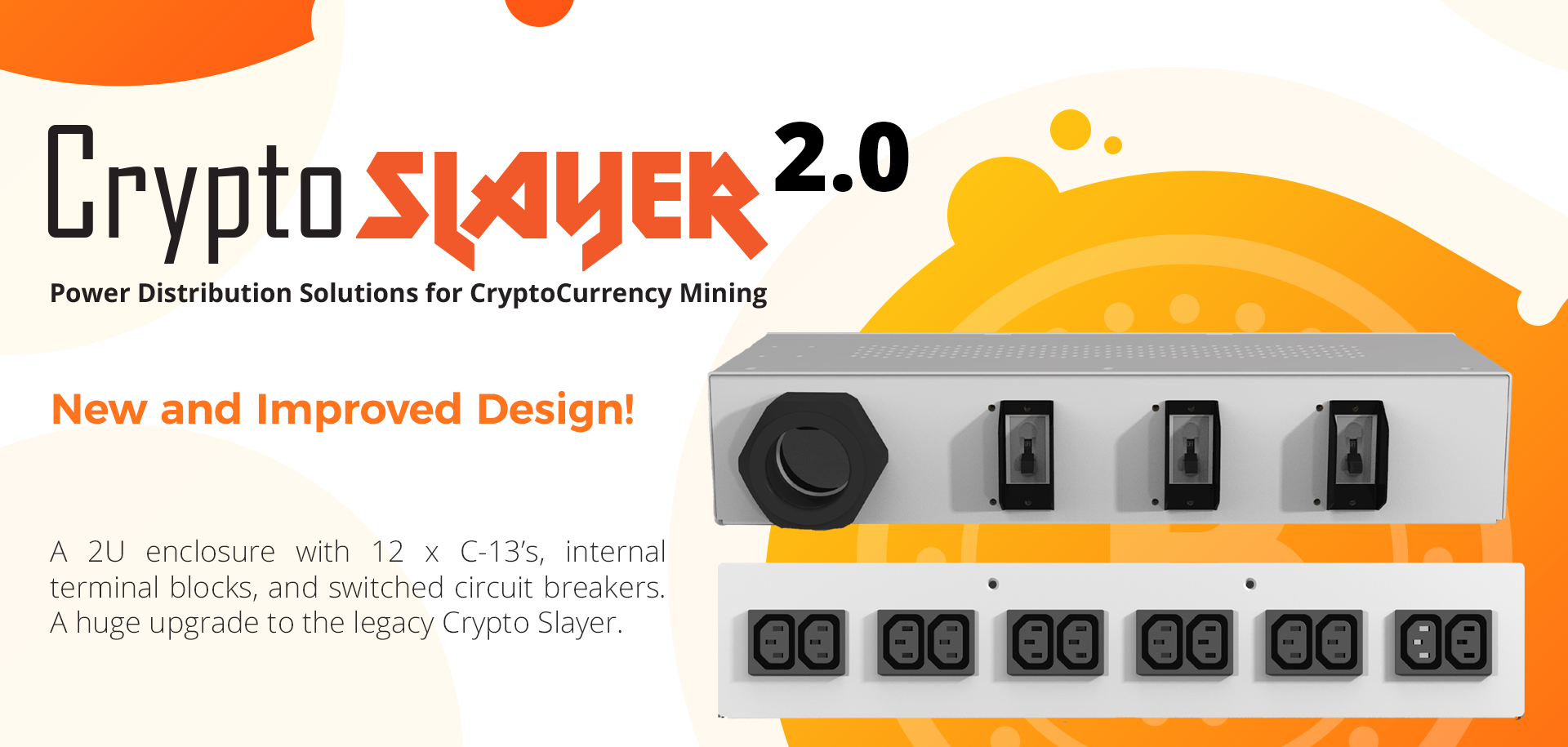 Crypto Slayer Mining PDU